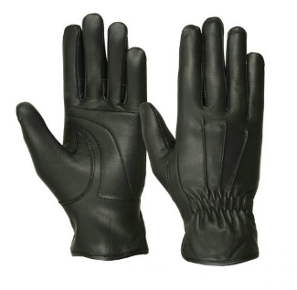 Ladies deer skin riding gloves