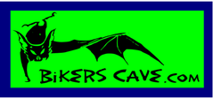 Bikers Cave bat logo