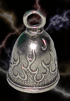 Tribal flame bell