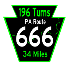 Route 666 patch