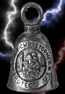 Bell, saint christopher protect us around image