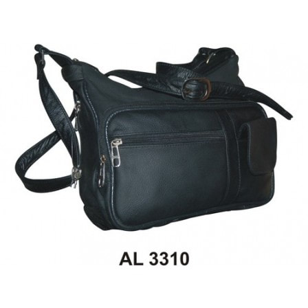 black conceal carry handbag
