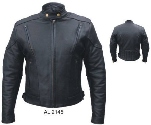 zipper vented ladies jacket