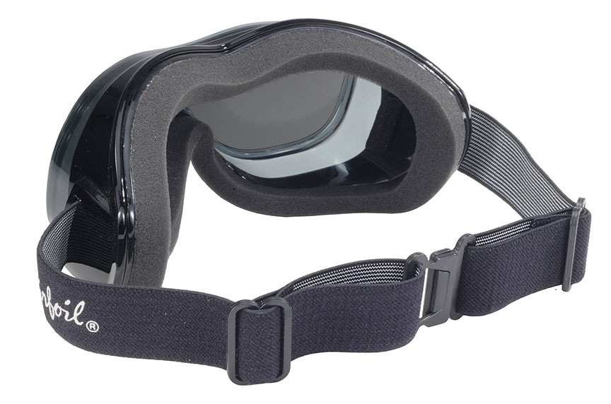 Rear view goggles