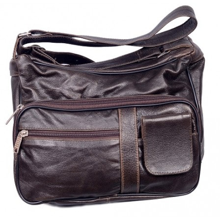 brown conceal purse